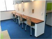 オープン型交流スペース もいもい内部